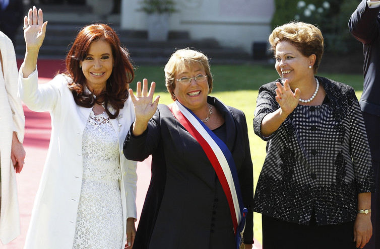Michelle Bachelet, the last woman standing of Latin America's political left. Credit: Reuters