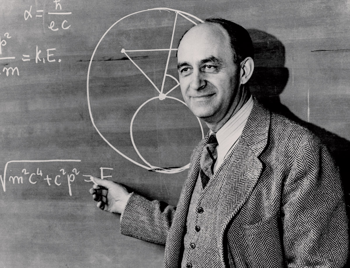 Enrico Fermi. Credit: Enrico Fermi Collection, Atomic Heritage Foundation