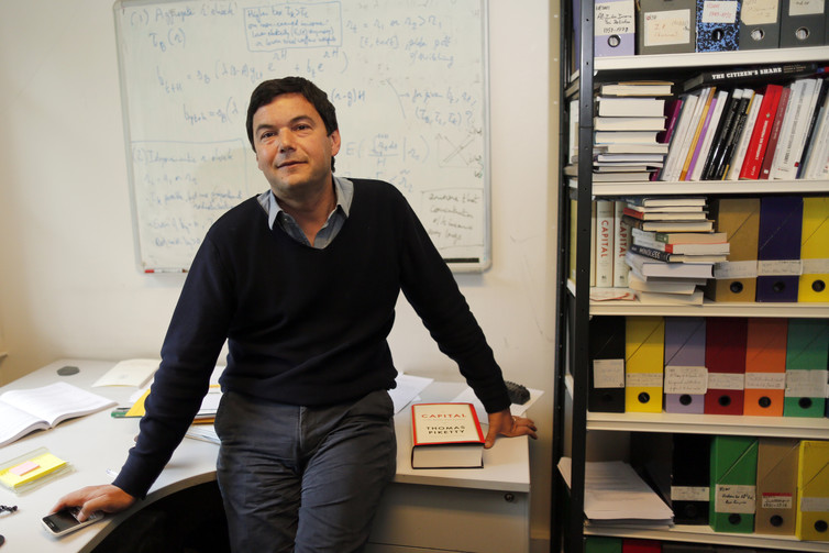 Economist Thomas Piketty rebuffed the criticism of his research on equality. Credit: Reuters/Charles Platiau