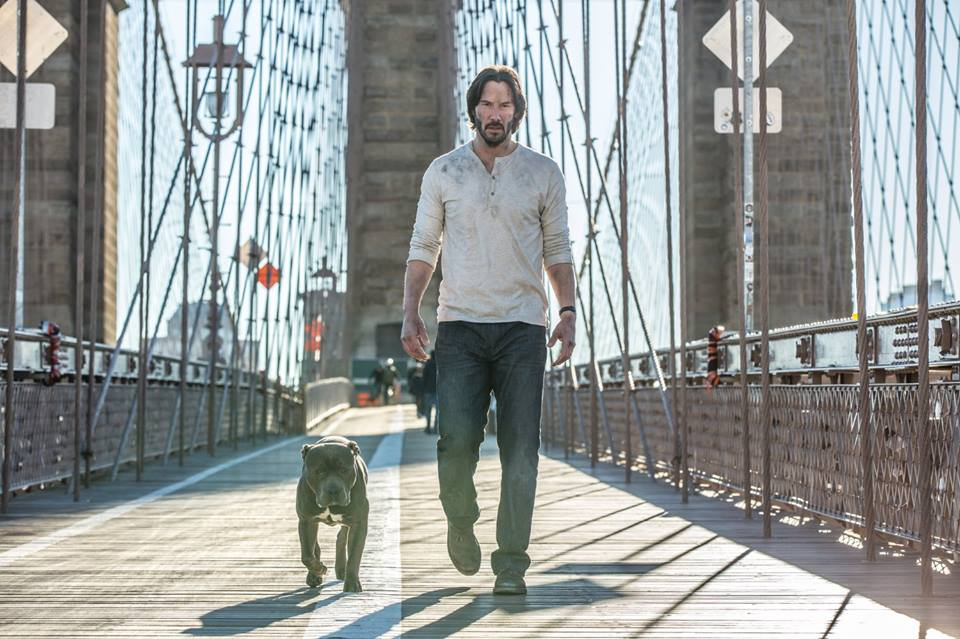 A still from John Wick: Chapter 2. Credit: Facebook