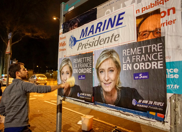 France: Le Pen Kicks Off Election Campaign at Lyon Rally