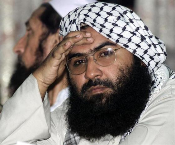 File photo of Maulana Masood Azhar in Islamabad, August 26, 2001. Credit: Reuters