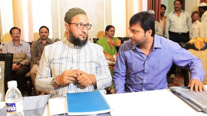 File picture of Asaduddin and Akbaruddin Owais. Credit: PTI