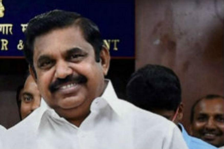 Edappadi K. Palaniswami has been sworn-in as the chief minister of Tamil Nadu. Credit: PTI