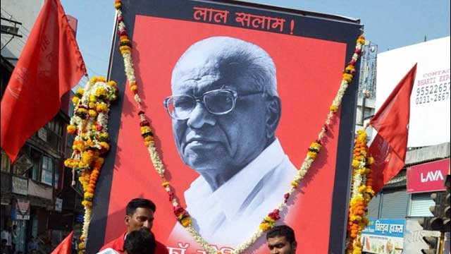 File photo of a march commemorating Govind Pansare. Credit: PTI