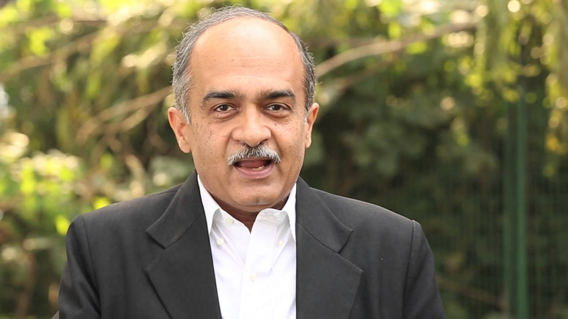 Prashant Bhushan of the CJAR. Credit: Youtube