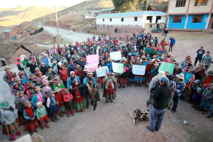 Protest Ends, Clears Road to Copper Mine in Peru