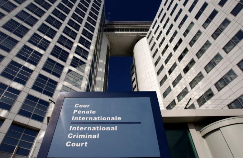 The entrance of the International Criminal Court (ICC) is seen in The Hague, Netherlands, March 3, 2011. Credit: Jerry Lampen/Reuters