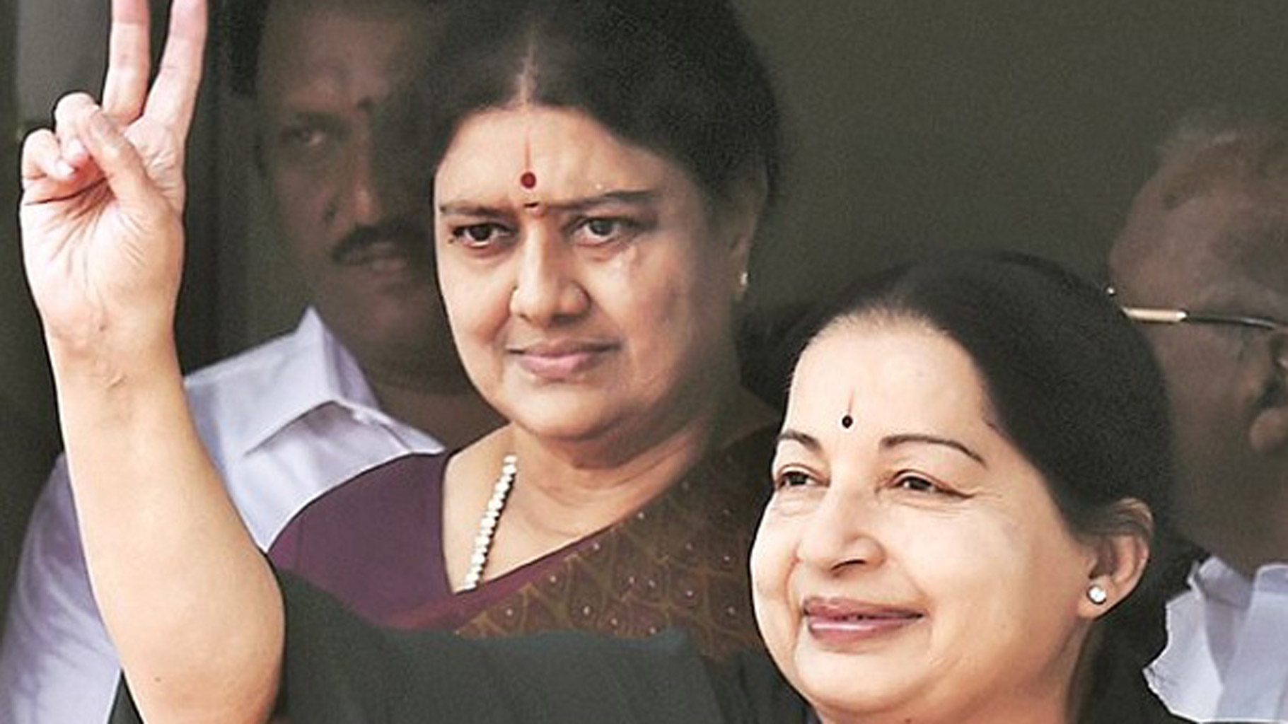 File photo of Sasikala and Jayalalithaa. Credit: PTI
