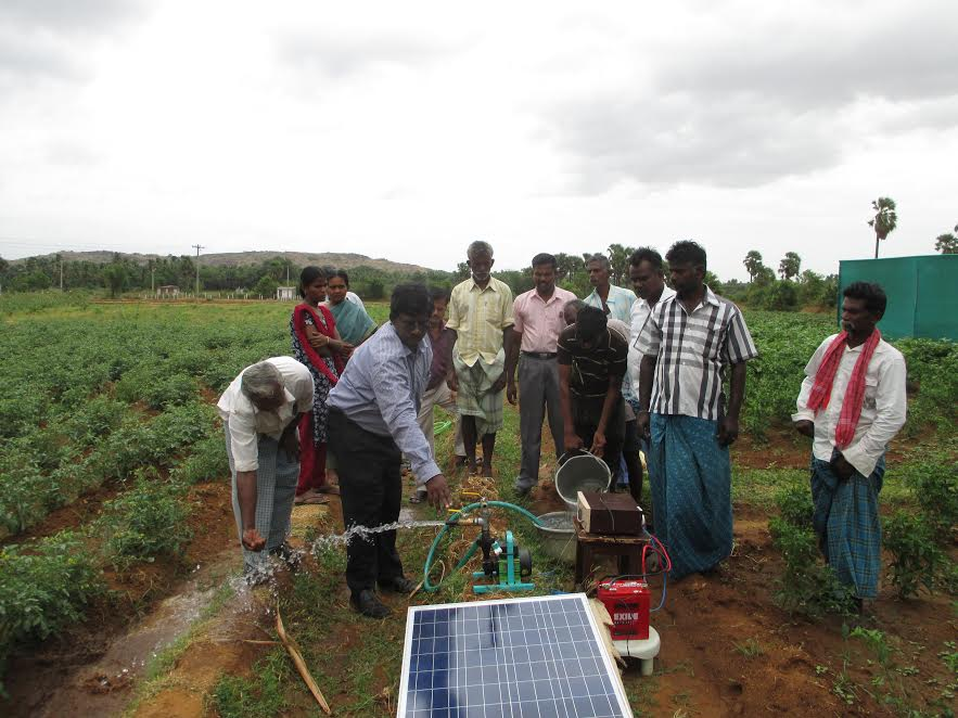 Farmer's Notebook: Tackling Drought With a Portable Solar Water Pump