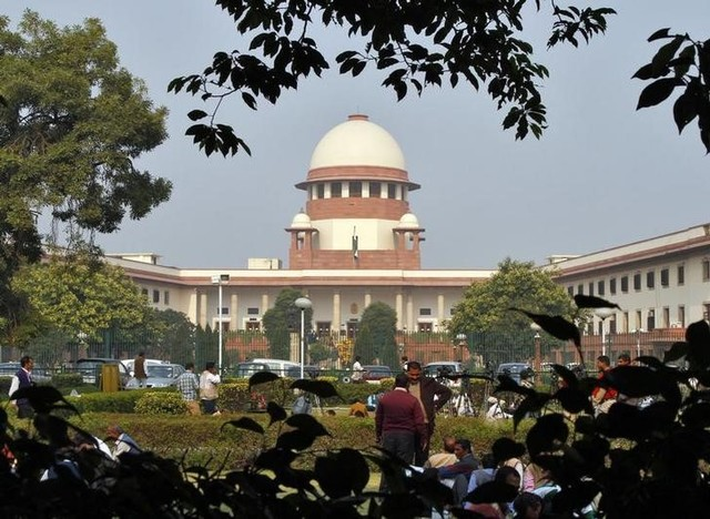 A view of the Supreme Court building in New Delhi. Credit: Reuters