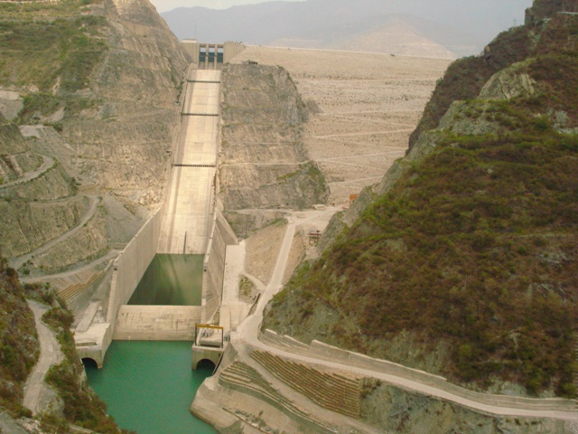 Tehri dam in Uttarakhand. Credit: Wikimedia Commons