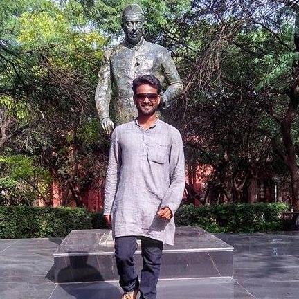 Rajini Krish at JNU. Credit: Rajini Krish's Facebook page