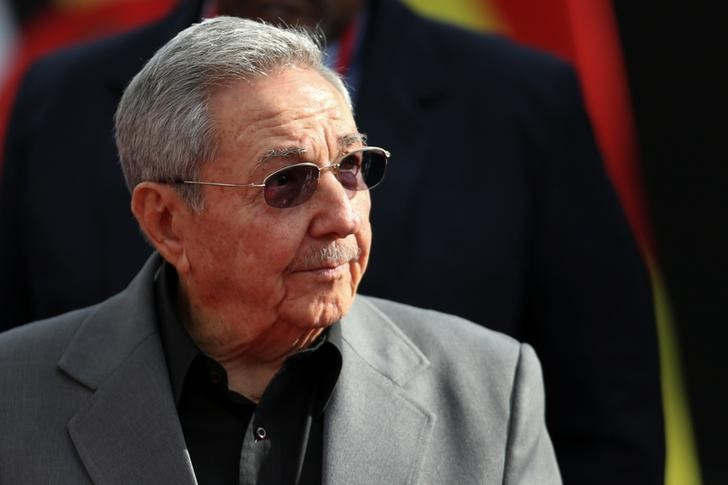 Cuba's President Raul Castro attends an ALBA alliance summit to mark the fourth anniversary of the death of Venezuela's late President Hugo Chavez in Caracas, Venezuela, March 5, 2017. Credit: Carlos Garcia Rawlins/Reuters