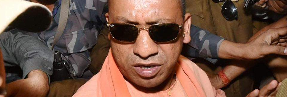 Uttar Pradesh chief minister Adityanath. Credit: PTI/Files
