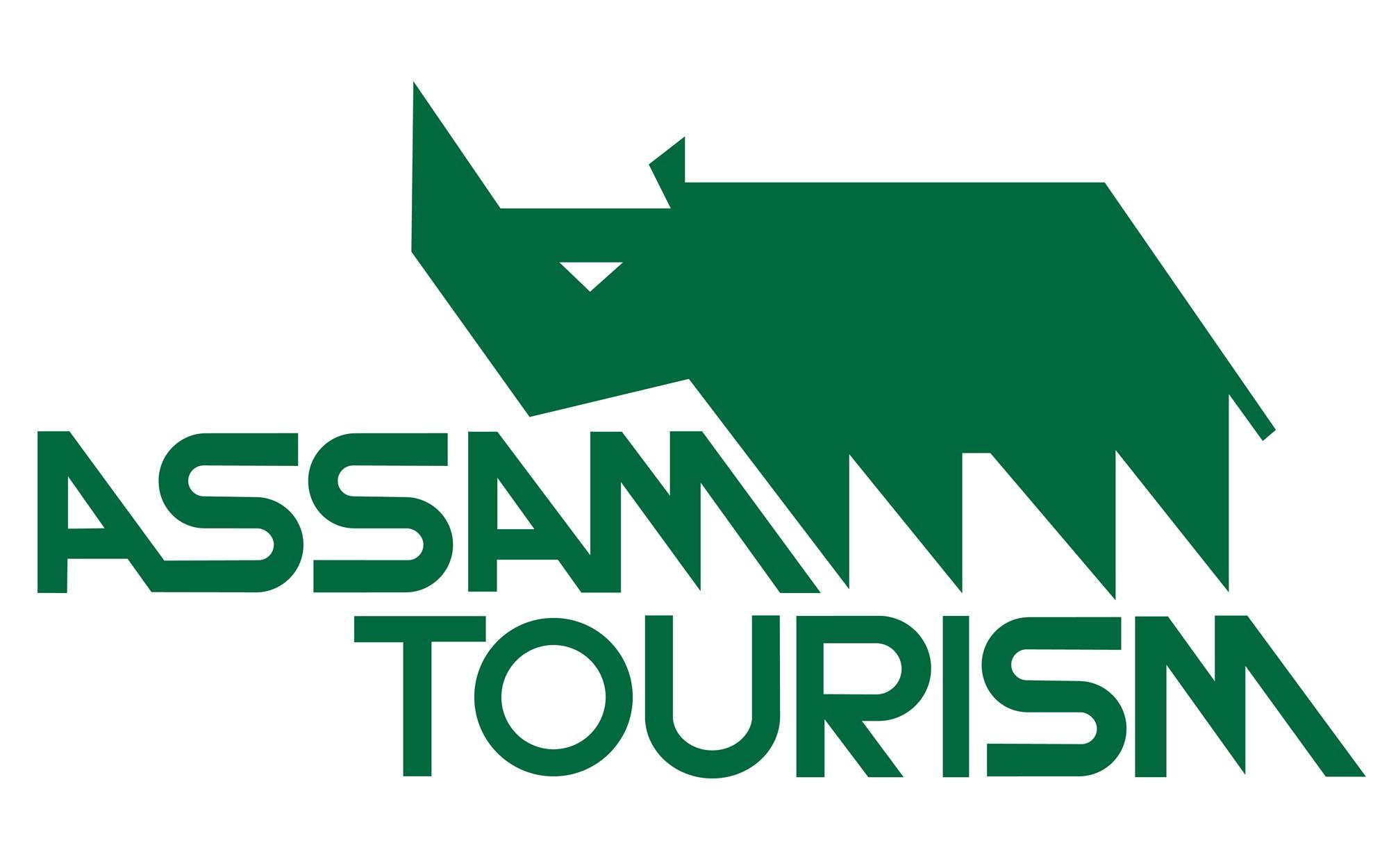AssamTourism logo designed by Amulya Baruah