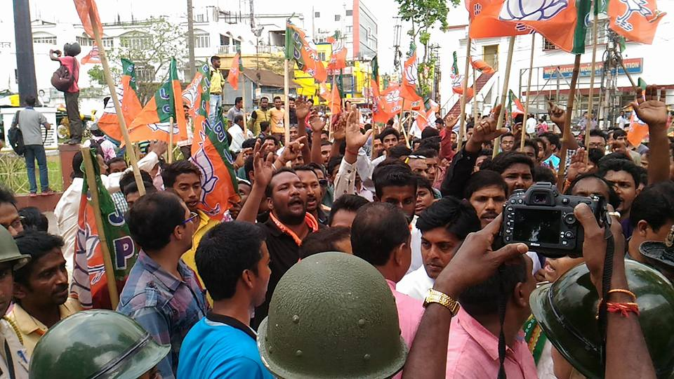 BJP youth Morcha