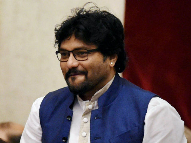 Minister of State for Heavy Industries and Public Enterprises Babul Supriyo. Credit: PTI