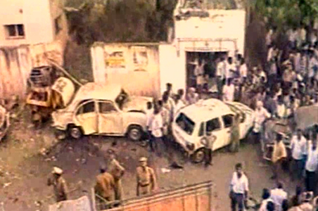 On the 14th of February 1998, 19 bombs exploded in the city of Coimbatore. Credit: YouTube