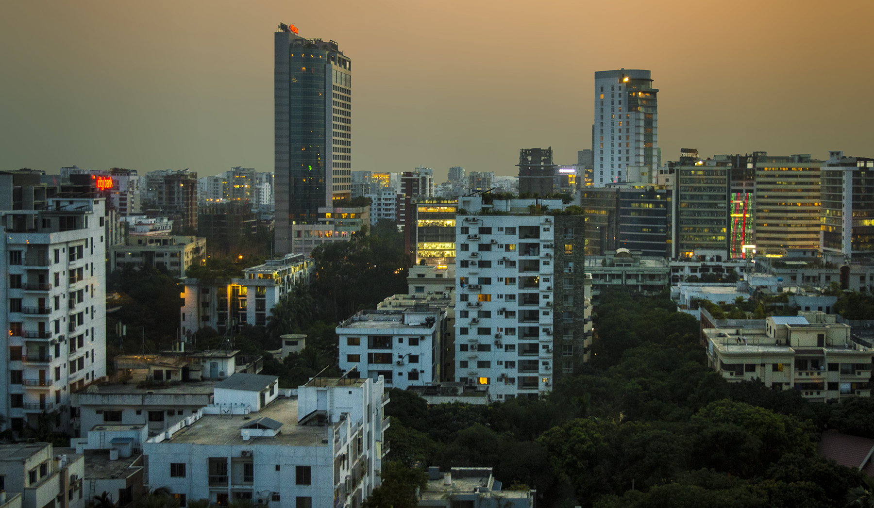 Dhaka grew into a metropolitan area with a population of more than 15 million and the world's 3rd most densely populated city. Credit: Wikimedia Commons