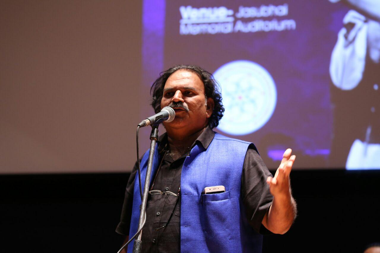 'We Are Here to Disturb You,' Says Dalit Artist Shambhaji Bhagat