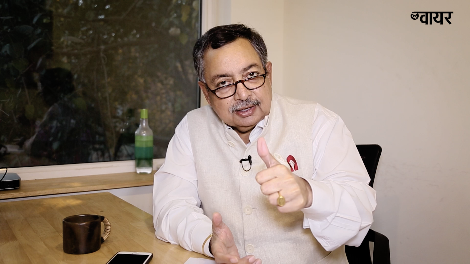 Vinod Dua. Credit: Still from Episode 21 of Jan Ki Baat