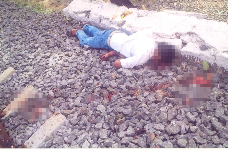 Iavarasana's body was found by the railway tracks on July 4, 2013. Credit: Special Arrangement