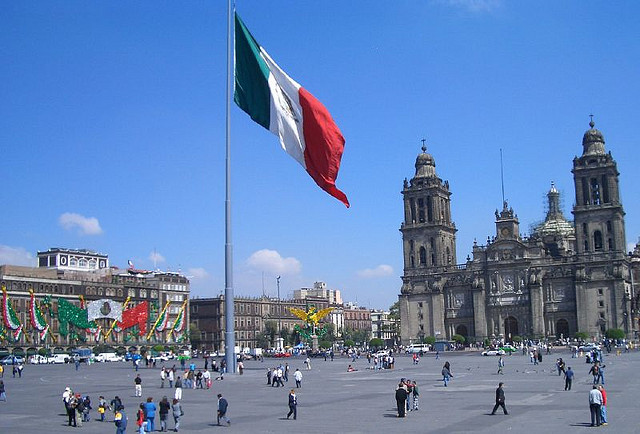 Historic centre of Mexico City. Credit: Wikimedia Commons
