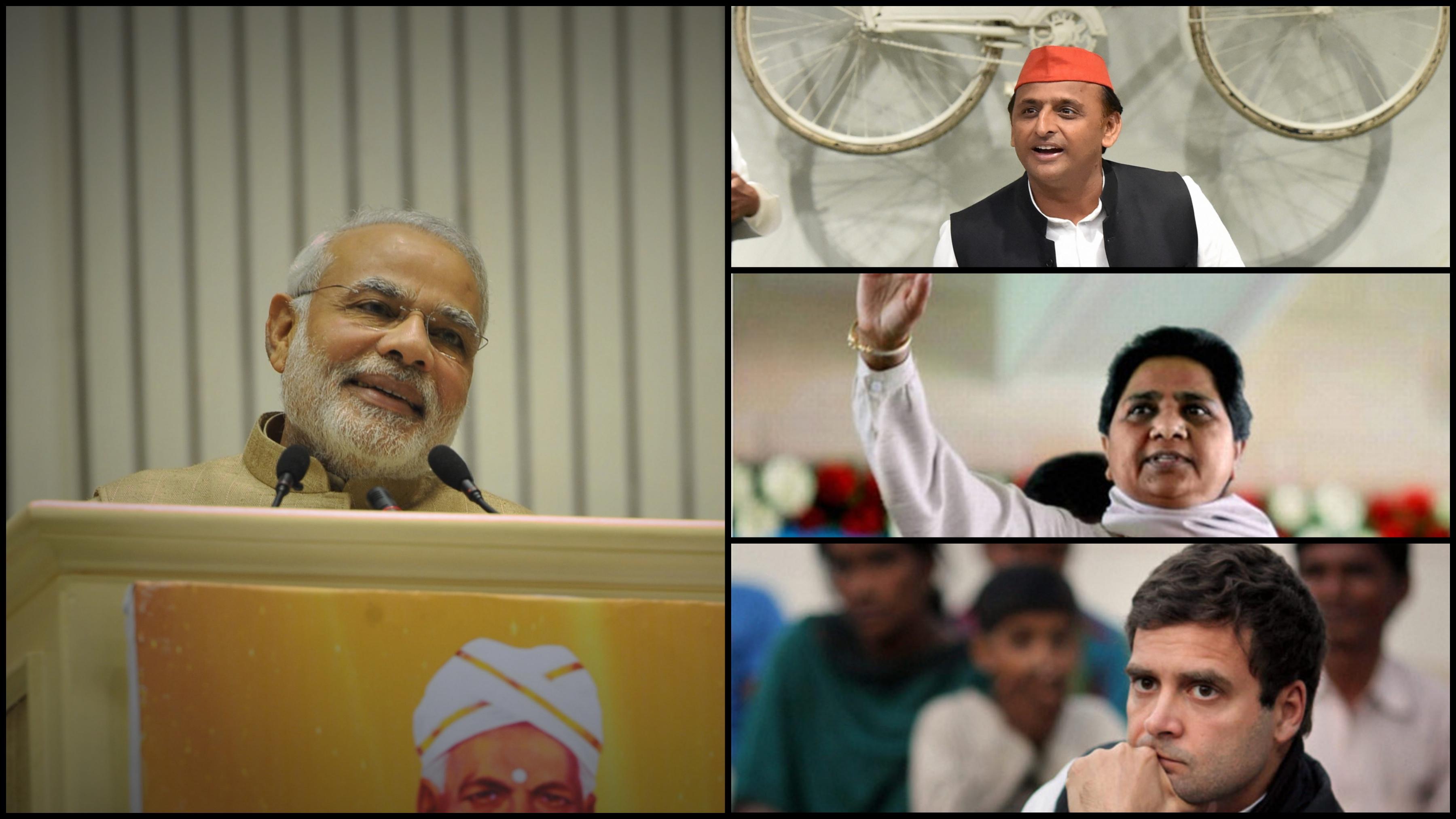 Modi-Akhilesh-Mayawati-Rahul