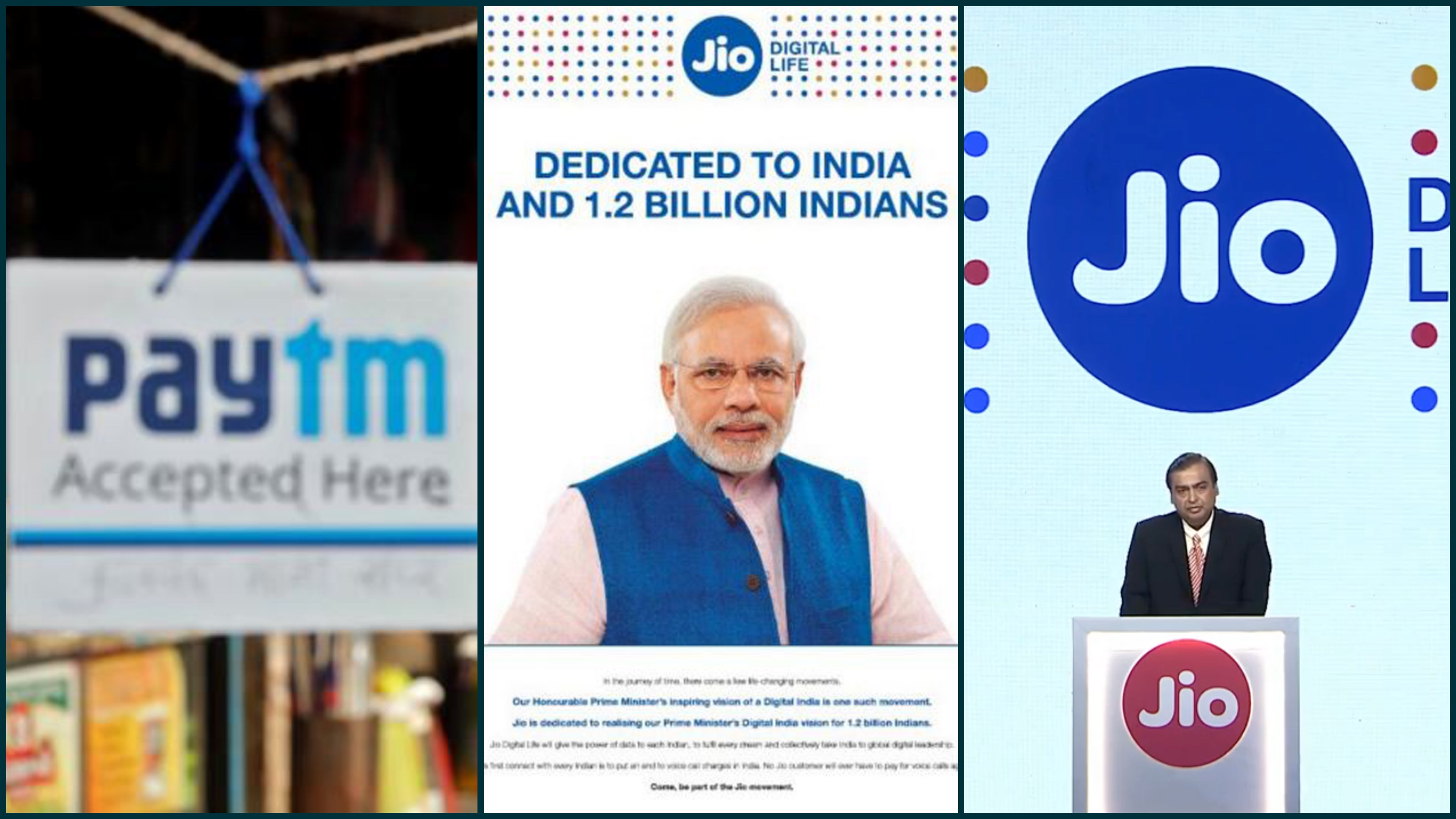 We're Sorry, Say Paytm and Reliance Jio on Modi Advertisements