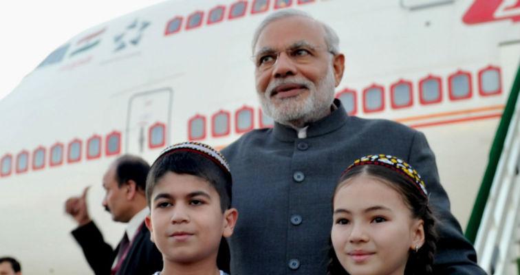 Modi plane reuters featured
