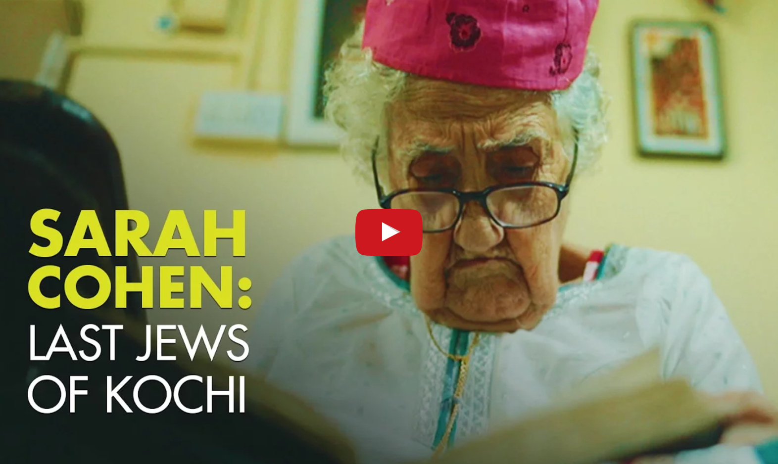 Watch: Sarah Aunty's Embroidery Shop – The Last Jews Of Kochi