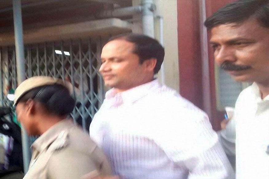 J. Sekhar Reddy being produced at a CBI court. Credit: PTI