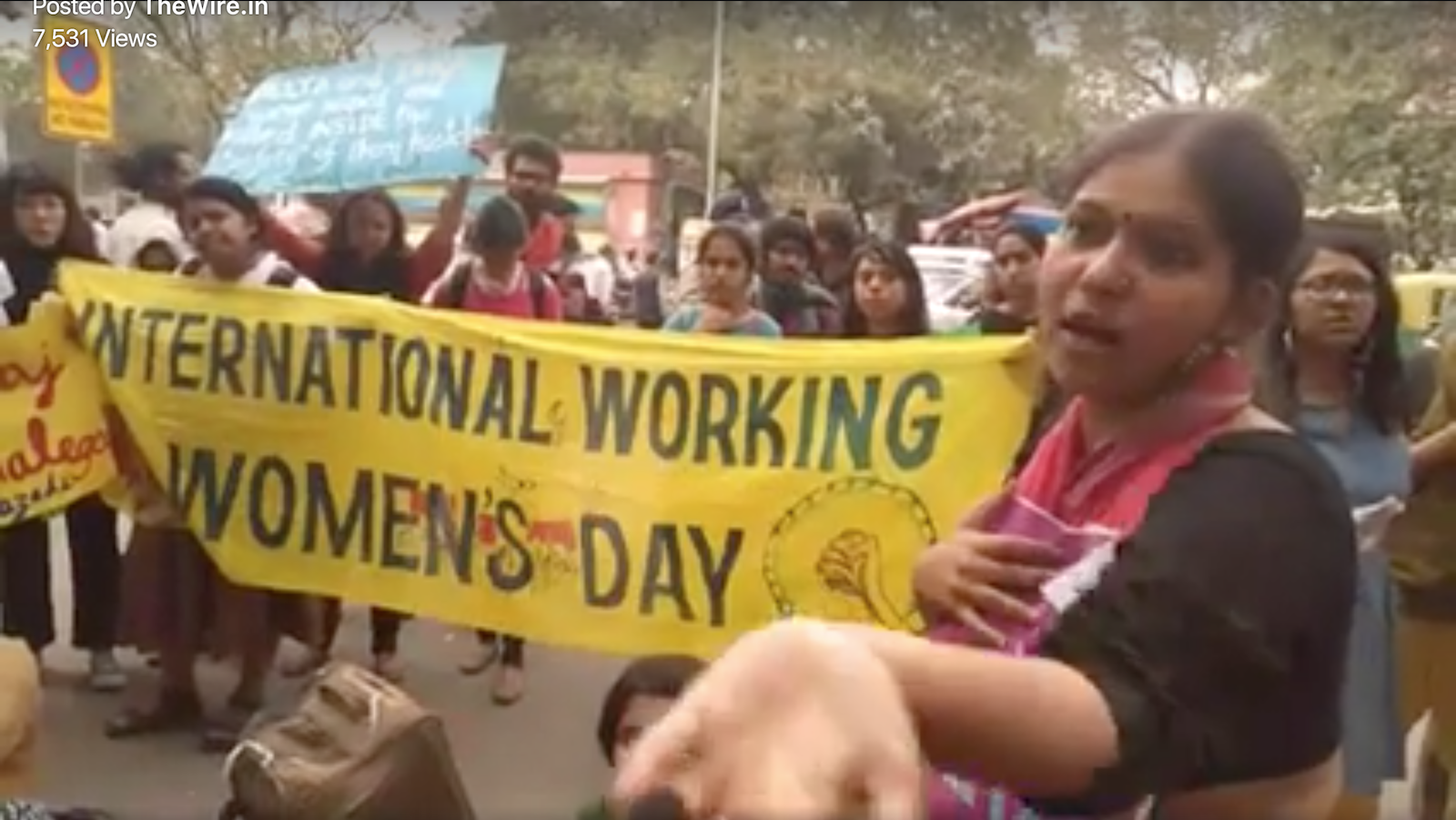 Watch: Pinjra Tod Marches to Demand Apology From Maneka Gandhi