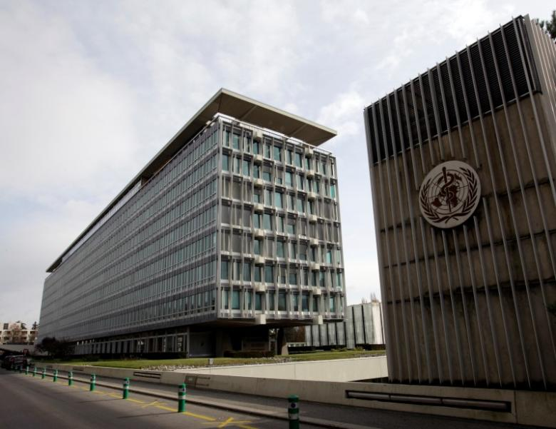 The WHO headquarters in Geneva. Credit: Reuters/Denis Balibouse