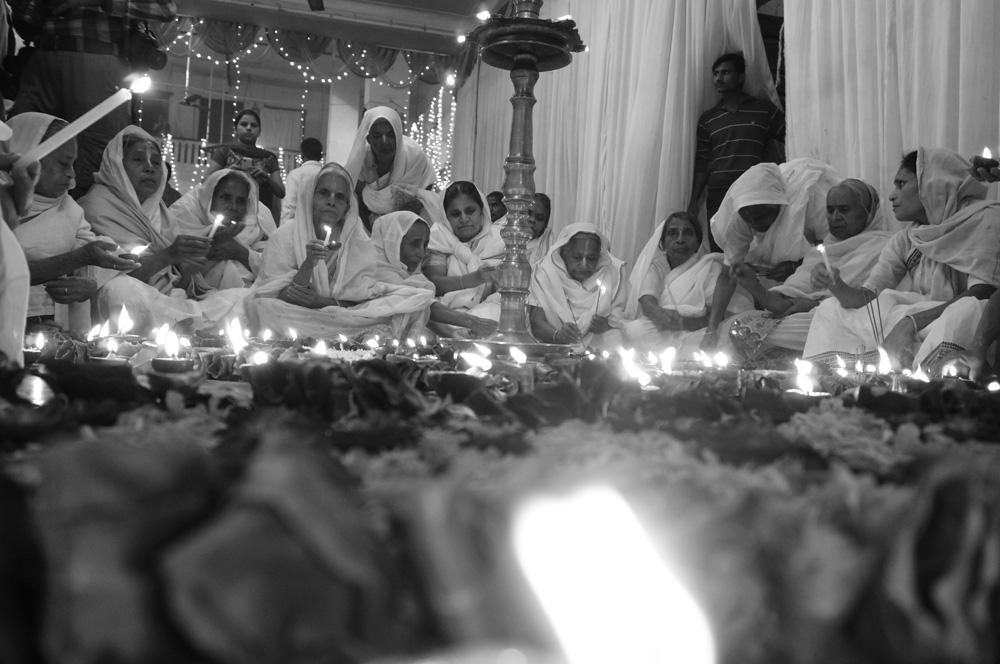 Widows at Vrinvan ashram - Glimpses of their daily life. By Shome Basu 20130202_0089