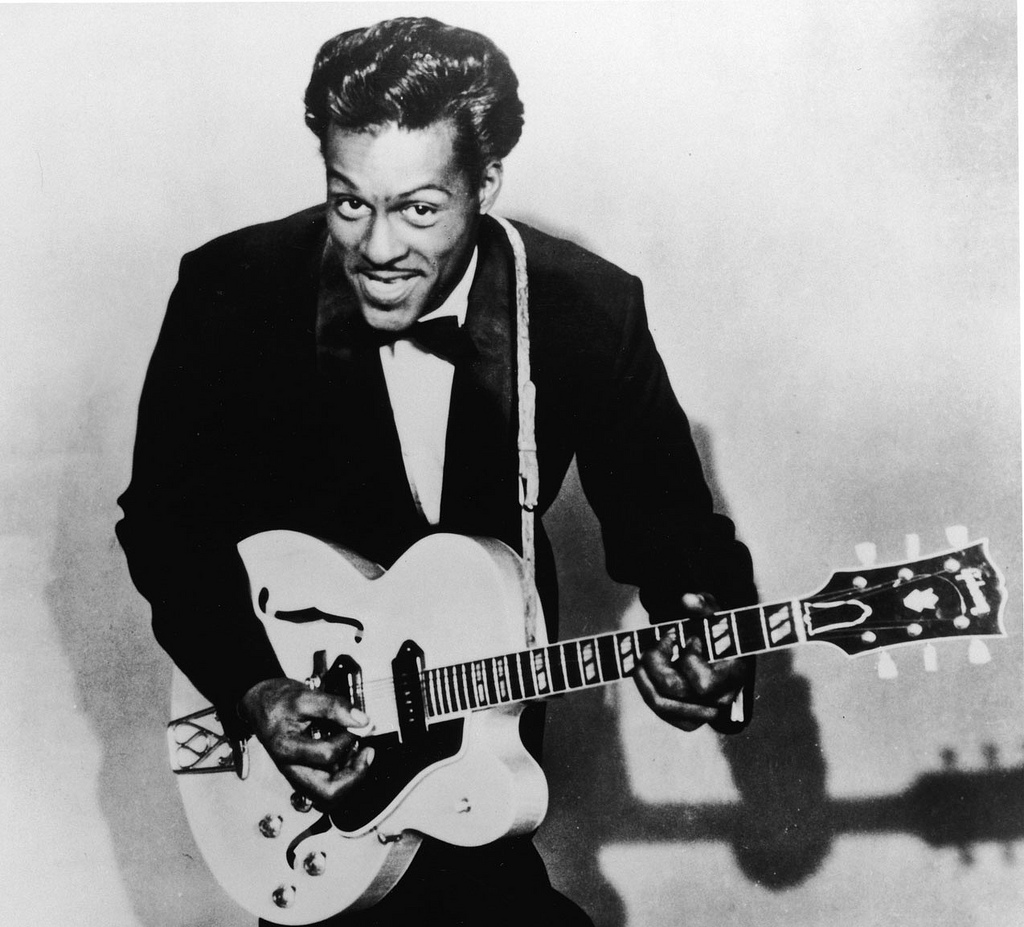 Chuck Berry. Credit: Wikimedia Commons