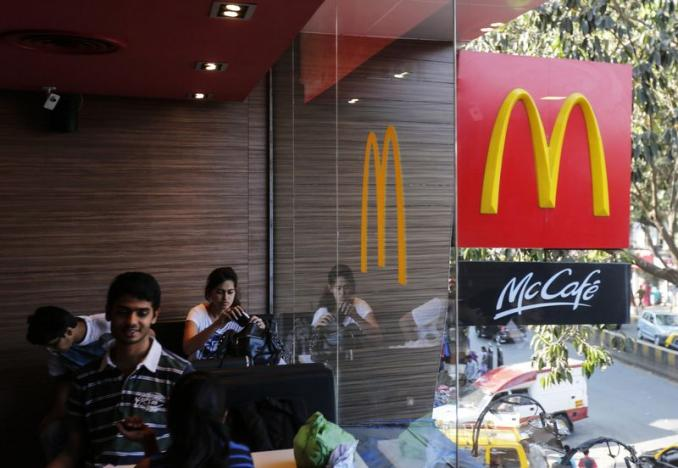 McSecurity? a McDonalds restaraunt in Mumbai. Credit: Reuters
