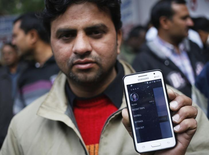 Uber and Ola drivers find themselves in no-mans land, with very little methods of grievance redressal. Credit: Reuters