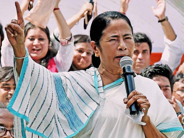 File photo of West Bengal chief miniter Mamata Banerjee. Credit: PTI