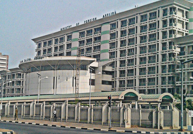 The Nigerian Ministry of Foreign Affairs headquarters in Abuja. Credit: MOFA, Nigeria