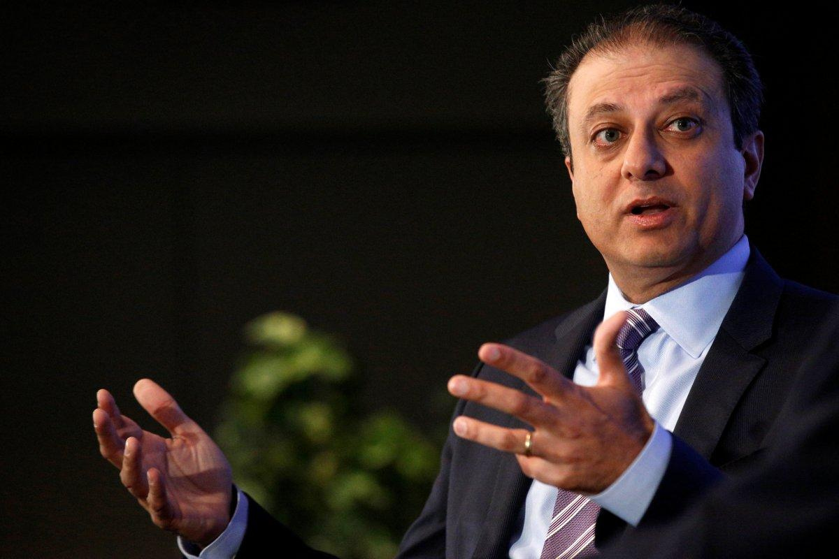 Preet Bharara Fired After Refusing Trump Administration's Order to Step Down