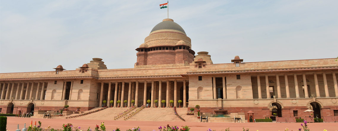 Rashtrapati Bhavan. Credit: rashtrapatisachivalaya.gov.in