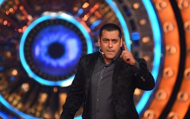 Salman Khan in a still from Bigg Boss. Picture courtesy: Colors
