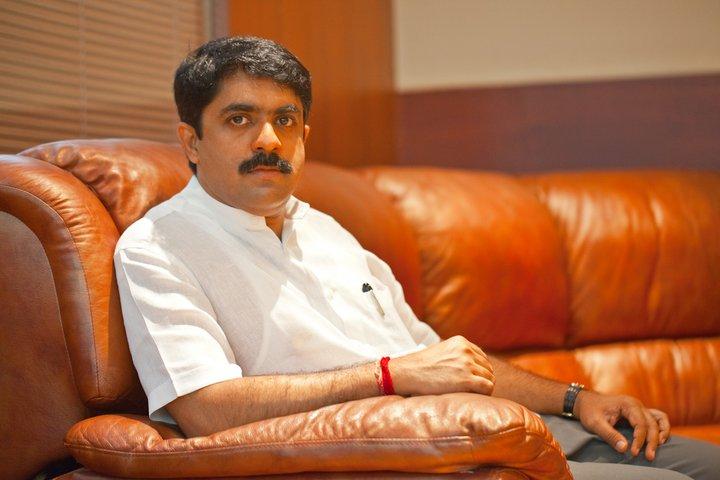 Vijay Sardessai of Goa Forward. Credit: Special Arrangement
