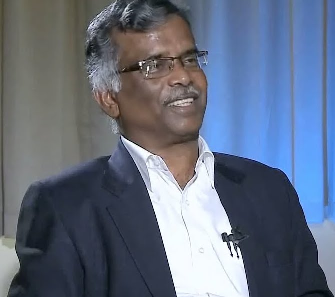 V. Ramakrishnan, the director of IISER Thiruvananthapuram, who has been accused of plagiarism. Credit: YouTube