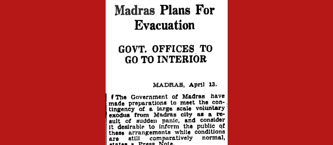Times of India, April 14, 1942