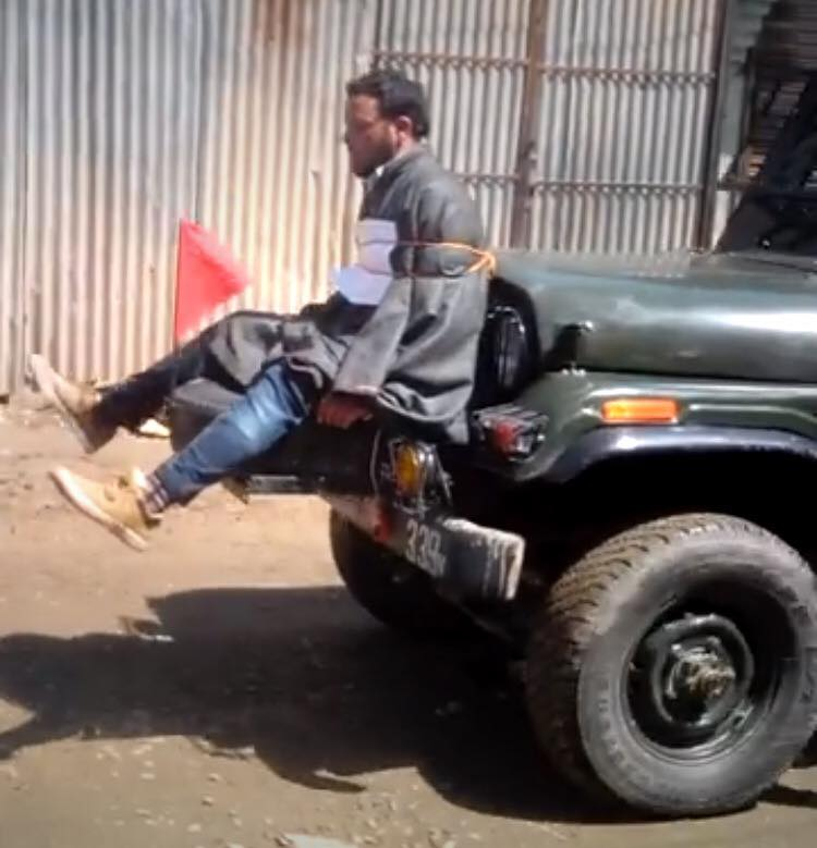 Indian Army Accused of Using Civilian as Human Shield in Kashmir Patrol