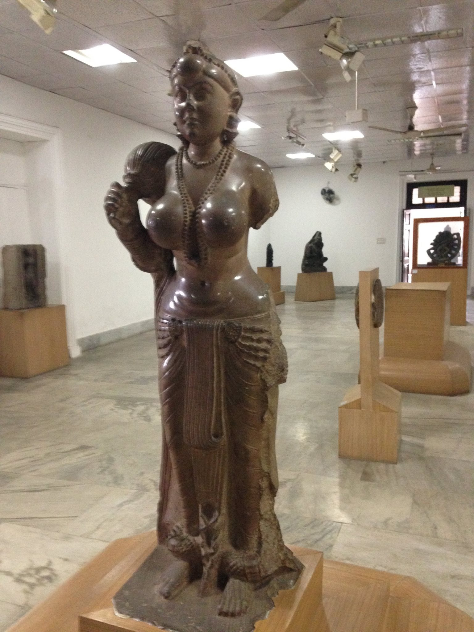 The Didarganj Yakshi. Credit: SV/The Wire