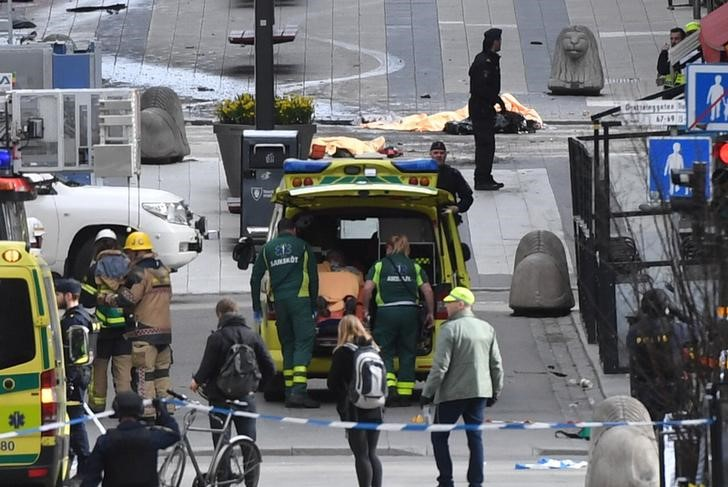 One Arrested After Four Killed in Sweden Truck Attack